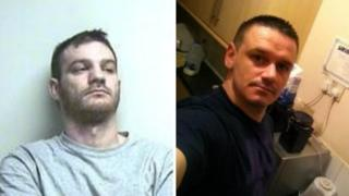Kieran Davies (L) had denied murdering Ashley Hawkins (R)