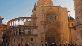 VIsta de la Catedral de Valencia.