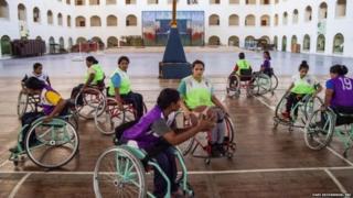 ਭਾਰਤੀ ਮਹਿਲਾ ਵ੍ਹੀਲਚੇਅਰ ਬਾਸਕਟਬਾਲ ਟੀਮ