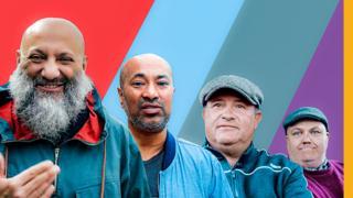 Four former football hooligans