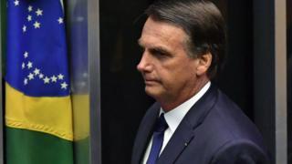 Bolsonaro no Congresso nesta terça