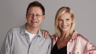 Simon Mayo and Jo Whiley