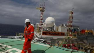 Petrobras oil rig