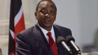 président Kenyatta