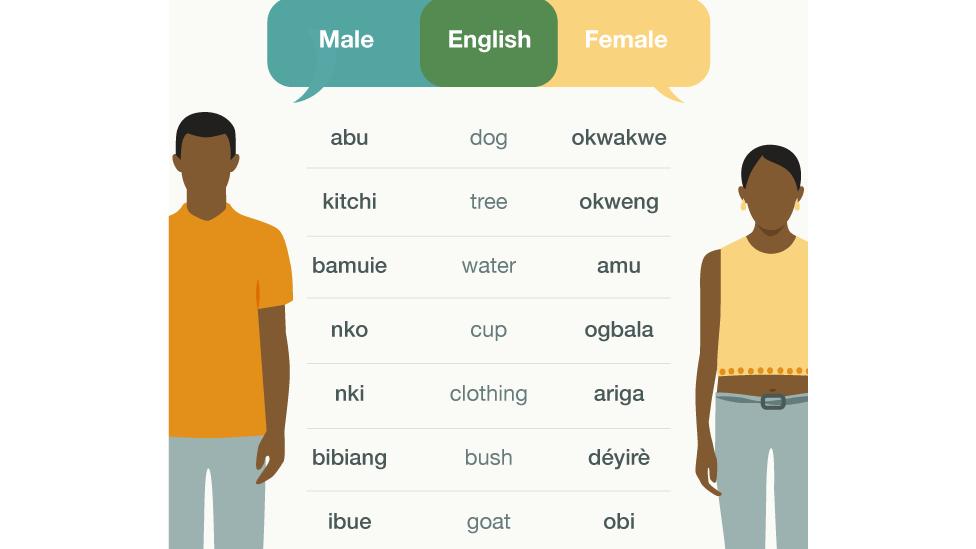 Ubang: The Nigerian village where men and women speak different languages