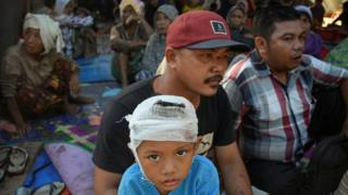 Ribuan warga berada di penampungan