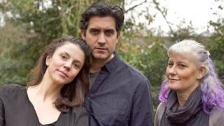 Memet, Meltem and Pinar left Turkey and moved to Cardiff after being accused of being terrorists over the subject of their play