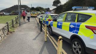 The incident at Bracelet Bay