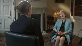 PM Theresa May in Downing Street