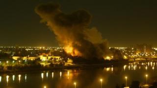 Бомбардировки Багдада в 2003 г.