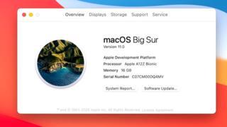 Nueva versión del MacOS funcionando en la iPad Pro.
