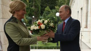 Kolinda i Putin, Soči, 18. oktobar 2017. godine