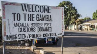 Граница с Гамбией