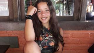 Lays Gabrielle, de 14 anos