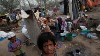 India, Myanmar, Rohingya