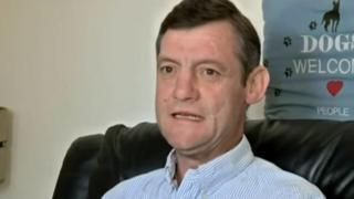 Ex-inmate Andrew Drabarek