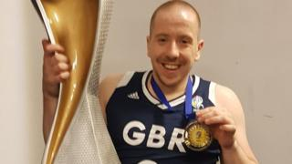 James MacSorley claimed gold as a member of the Great Britain men's wheelchair basketball team