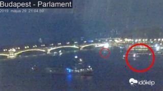 현지시각 오후 9시경 대형 크루즈선 '바이킹 시긴'은 유람선 허블레아니호와 충돌했다