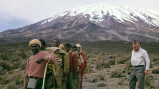 صورة متسلقي جبل كليمنجارو