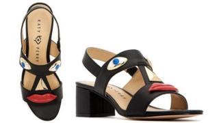 Katy Perry'nin tasarladığı ayakkabı