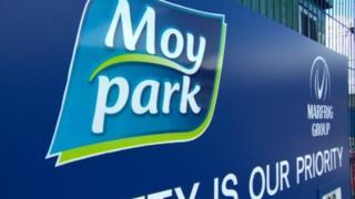Moy Park sign