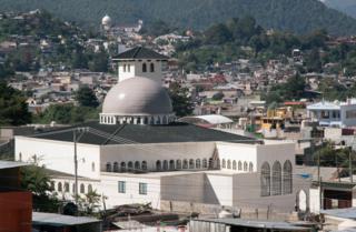 Mezquita Imam Malik en San Cristobal de las Casas, Chiapas.
