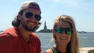 New Yorkers Sam Beattie and Michele Segalla were travelling across Australia