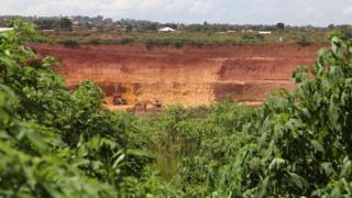 Copper and cobalt mine in DRC