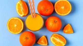 Апельсины и сок