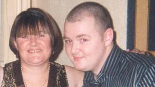 Anthony Cavanagh with mum Pat