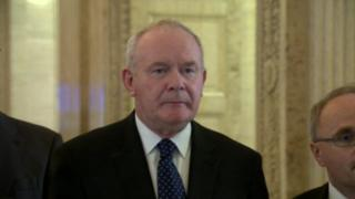 Martin McGuinness said some in the DUP hate 'anything Irish'