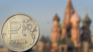 Рубль на Красной площади
