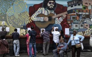 رای گیری روز یکشنبه شهرداری ها در ونزوئلا - کاراکاس