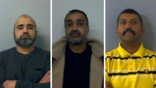 Naim Khan, Mohammed Nazir, and Raheem Ahmed