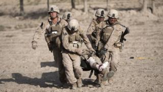 قوات مارينز في أفغانستان