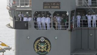 قيادات في البحرية الإيرانية