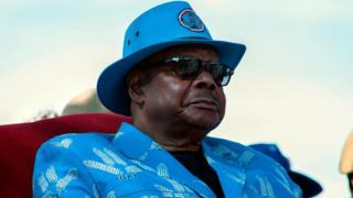 Le président du Malawi, Peter Mutharika, fait campagne pour un second mandat.
