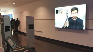 Evolv scanner at the Brit Awards