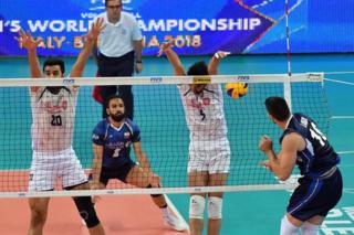بازی ایران و ایتالیا