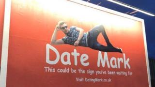 Mark's billboard