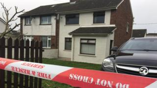 A pensioner was found dead at the scene of a house fire in Jonesborough