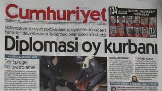 يومية جمهوريت أعرق صحيفة تركية ذات توجه علماني