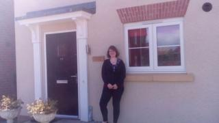 Anna Hoult whose home is going to be demolished for HS2