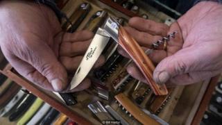 Nghề làm dao tại Thiers có từ ít nhất là hồi thế kỷ 15 trở lại đây
