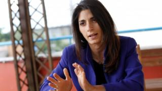 Virginia Raggi, the anti-establishment 5-Star Movement's candidate for Rome mayor