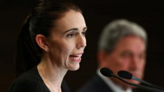New Zealand Prime Minster Jacinda Ardern