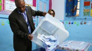 عمليات فرز أصوات الناخبين