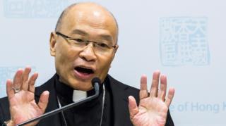 罗马天主教香港教区主教杨鸣章