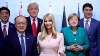 Іванка Трамп на G20