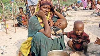 Mutane na bukatar taimakon abinci da sauran kayan bukatun yau da kullum a Somalia